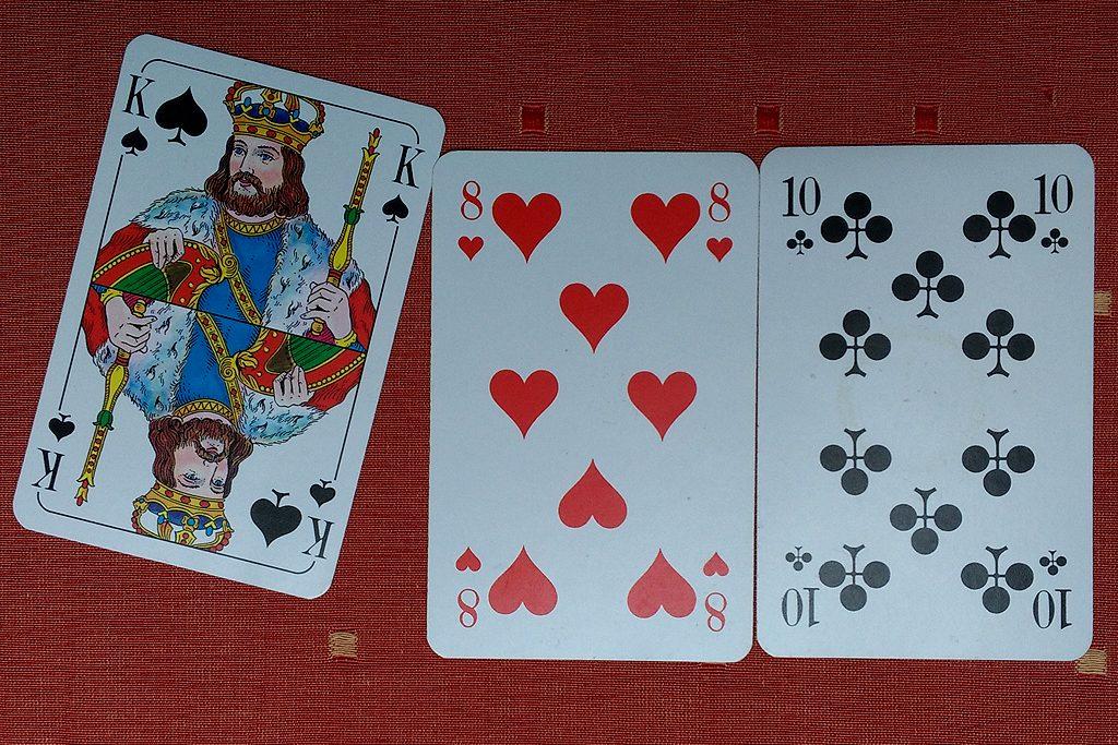 Bild 3: Pech: durch Ziehen eines Königs sind 22 Punkte erreicht