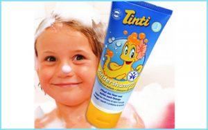 Shampoo mit Orangenduft