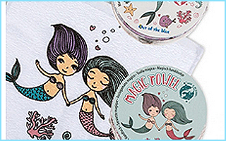 Ein Zauberhandtuch mit Meerjungfrauen-Motiv als Preis für Eure Geburtstagsspiele