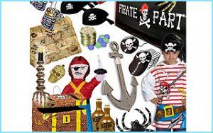 Eine prall gefüllte Verleihkiste für Eure Piratenparty