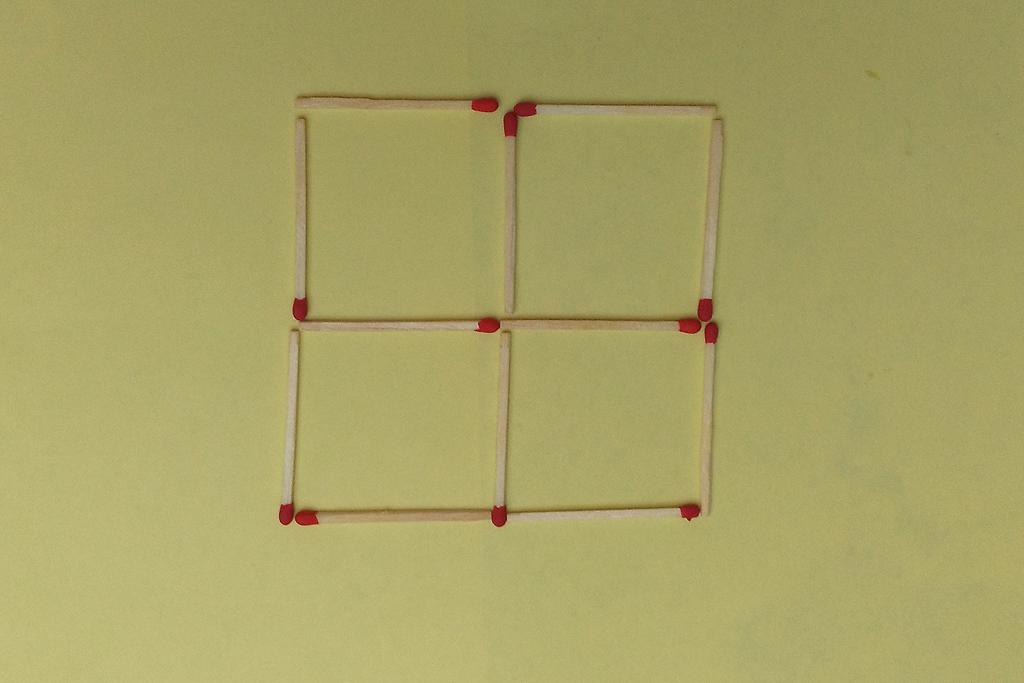 streichholzr tsel geometrische gebilde mit streichh lzern nr 11. Black Bedroom Furniture Sets. Home Design Ideas