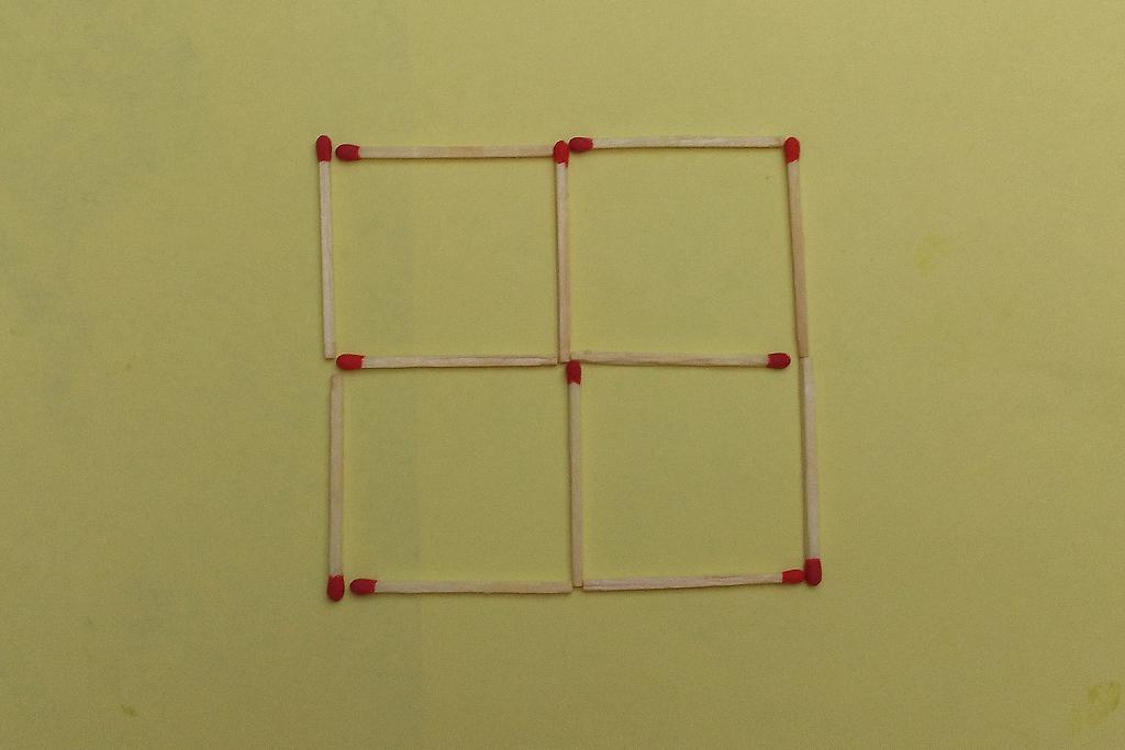 streichholzspiele geometrische gebilde mit streichh lzern nr 14. Black Bedroom Furniture Sets. Home Design Ideas