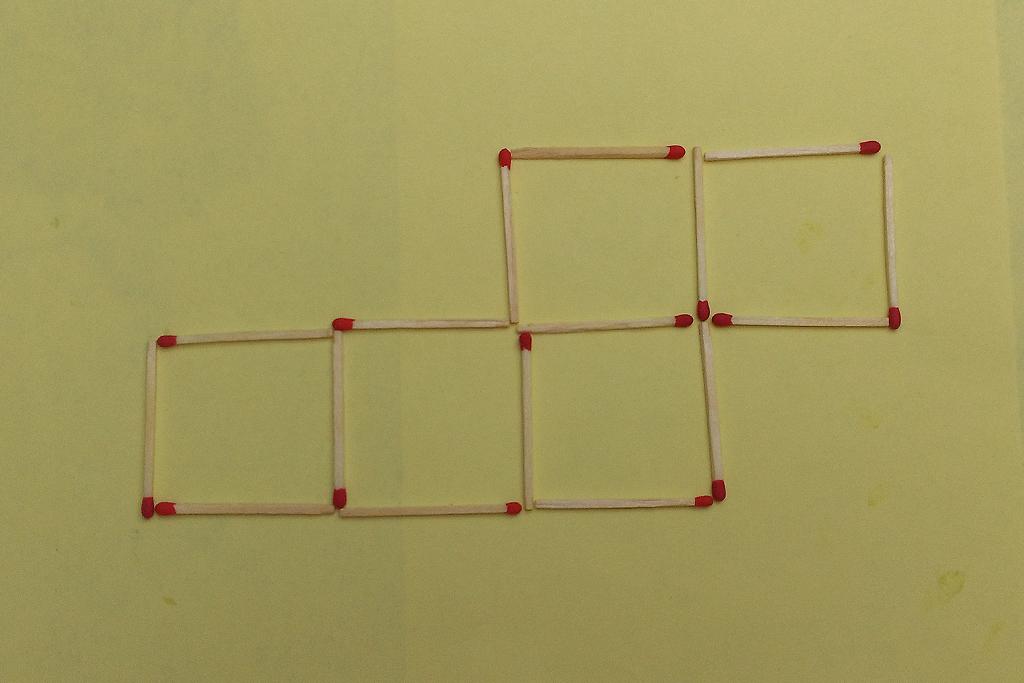 streichholzspiele geometrische gebilde mit streichh lzern nr 15. Black Bedroom Furniture Sets. Home Design Ideas
